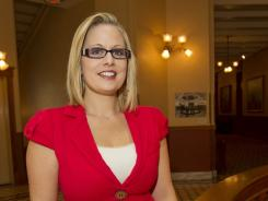 "Kyrsten Sinema: The Phoenix Democrat says ""Arizona doesn't really care"" about her sexuality."