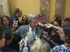 "Senate Finance Committee Chairman Max Baucus, a Montana Democrat, will be tasked with writing details of the tax portion of the ""Gang of Six"" proposal with his committee."