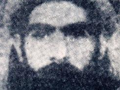 This undated photo reportedly shows the Taliban supreme leader,  Mullah Omar.