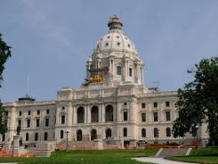 St. Paul, Minn. - The Minnesota State Capitol.