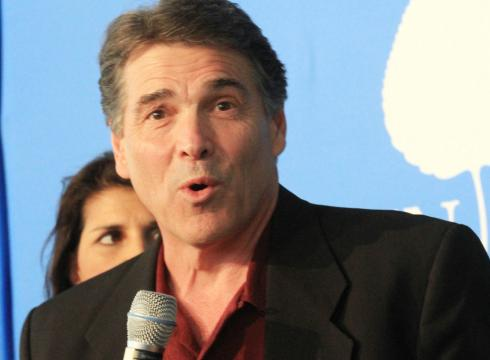 Texas Gov Rick Perry speaks at the McCloskey Speaker Series: A Conversation ...