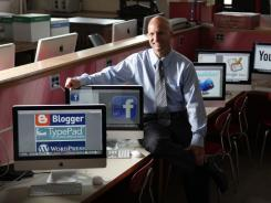 Principal Eric Sheninger encourages new media at his school.