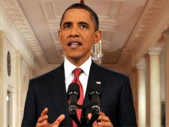 President Obama addresses the nation Monday as polarized lawmakers fail to rally behind a plan to avert a disastrous debt default.