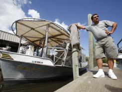 Oyster fisherman Robert Campo from St. Bernard Parish, La., says the Gulf oil spill compensation fund has offered him less than one-third of what he requested for 2010 losses.