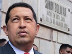 Venezuelan President Hugo Chavez visits Caracas Friday after undergoing chemotherapy treatment for his cancer in Cuba.