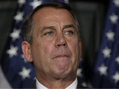 "House Speaker Boehner said yesterday of his debt plan: he tried to work with Obama, but the president ""would not take yes for an answer."""