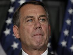 Boehner is hoping to avoid an embarrassing defeat on his scaled-down debt-ceiling proposal.