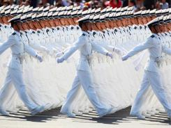 China is pumping ever-increasing amounts of money into its People's Liberation Army.