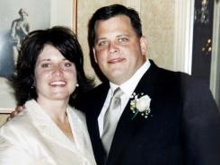 Undated photo released by the Schuler family shows Diane and Daniel Schuler on their wedding day.