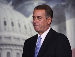 After a tense 24 hours of wrangling, House Speaker John Boehner got 218 members of his GOP caucus to support the plan after conservative rebels balked Thursday night. Not a single Democrat voted for the measure.