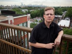 Former New Yorker Timothy Mennel on a Chicago rooftop.
