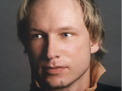 Anders Behring Breivik, 32, charged in connection to the twin attacks on a youth camp and a government building in Oslo, Norway.