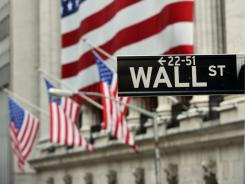 Street fears : The U.S. market fell Monday, following stock plunges in Asia and Europe.