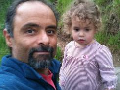 Mourad Samaan is shown with his 2-year-old daughter Madeline Samaan-Fay.  Authorities say the bodies of Samaan and his daughter were found Saturday in the man's vehicle in El Dorado County, Calif.