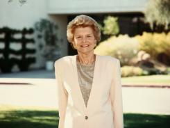 Betty Ford  served as chairwoman of the Betty Ford Center since its inception in 1981 until 2005.