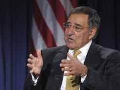 Defense Secretary  Panetta speaks at the National Defense University in D.C.