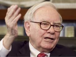 "Buffett:  ""While most Americans struggle to make ends meet, we megarich continue to get our extraordinary tax breaks,"" he writes in an opinion column for  The New York Times ."