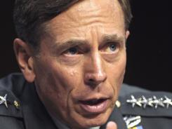 Gen. David Petraeus testifies on Capitol Hill on June 23.