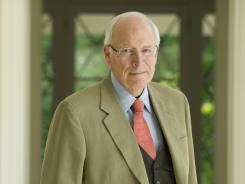 Former Vice President Dick Cheney at his home in McLean, VA.
