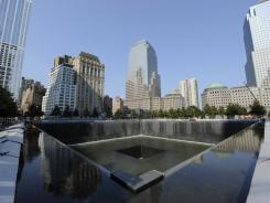 The 9/11 memorial in New York City has an estimated cost of $350 million in private donations.
