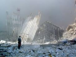 10 years ago:  A man calls out asking whether anyone needed help at Ground Zero.