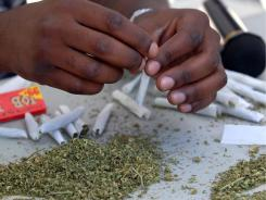 Marijuana is by far the most commonly used drug, and its popularity is growing, according to a new survey.
