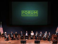House Republicans, including Sen. Boehner, held a forum to discuss job creation in March. The CEO of Pathway Genomics took part.