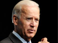 "Vice President Biden says the federal government needs to keep an eye on ""hard-earned tax dollars."""