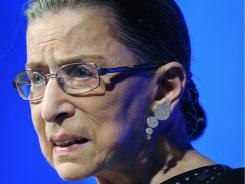 A flight Supreme Court Justice Ginsburg aboard had to be evacuated at Dulles International Airport Wednesday.