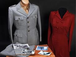 This clothing ensemble of Benito Mussolini and Claretta Petacci was allegedly taken during their attempted escape in 1945.