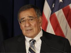 Defense Secretary Leon Panetta is expected to discuss the  lifting of the ban on gays serving openly in the military at a news conference Tuesday.
