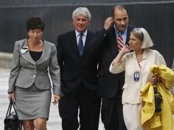 From left, Valerie Jarrett, Greg Craig, David Axelrod and Anita Dunn are mentioned in Suskind's book.