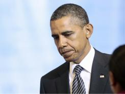A USA TODAY poll finds that more Americans are holding the president responsible for the country's economic woes.