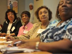 Members of the Senior Medicare Patrol attend a training session on fraud prevention and detection in April in Washington, D.C.