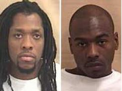 Kenneth Kagonyera, left, and Robert Wilcoxson were ruled not guilty Thursday and set free after a decade in jail.