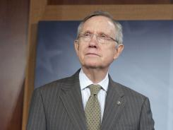 "Senate Majority Leader Harry Reid of Nevada said the House plan ""is not an honest effort at compromise."""