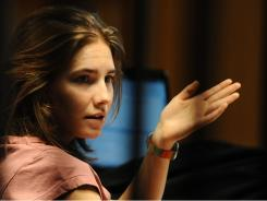 Amanda Knox was in court Friday during her appeal trial against her 2009 murder conviction.