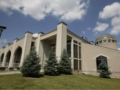 The Noor Islamic Center in Dublin, Ohio, is one of the largest new Islamic worship centers in the U.S.