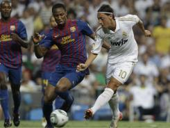 Money advantage: Soccer in Spain generates about $800 million in revenue a year, but most of that goes to only two teams.