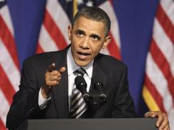 President Obama urges the Supreme Court to decide on the  constitutionality of the 2010 health care law.