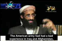 "YouTube video entitled ""Anwar Al-Awlaki America and the war on Yemen,"" dated May 9, 2010."