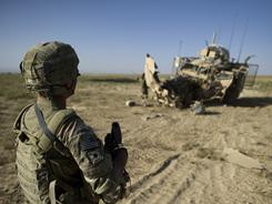 The U.S. military is working to beef up security against IEDs.