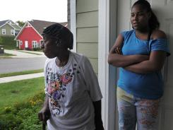 Jasmine Johnson and her great-grandmother Annie Mai Finney say they feel safe after redevelopment.