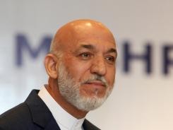 Afghan President Hamid Karzai was the target of an assassination plot.