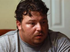 Iraq War veteran Brad Hammond has experienced severe PTSD, chronic anxiety, headaches, night terrors and hallucinations.