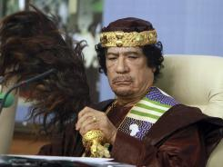 Moammar Gadhafi called on Libyans Thursday to resist the new regime.