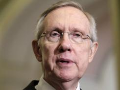 Senate Majority Leader Harry Reid said he wants a vote on legislation that could punish China for undervaluing its currency.