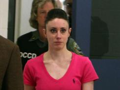 Casey Anthony exiting the Orange County Jail in July after she was acquitted of murdering her daughter.