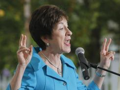 Sen. Susan Collins, R-Maine, is a strong supporter of schools providing potatoes, which the USDA wants to limit.
