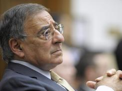 Defense Secretary Leon Panetta testifies on Capitol Hill in Washington, D.C.